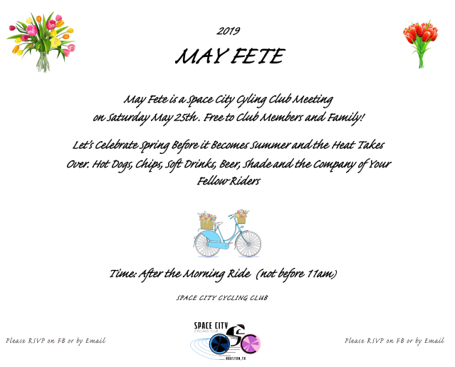 2019 MAY FETE